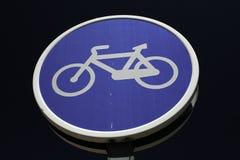 Макрос сигнала майны велосипеда стоковые фото