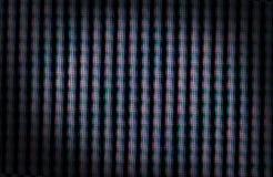 Макрос снятый пикселы ЖК-телевизора Стоковые Изображения