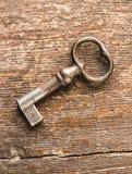 Макрос снятый ретро ключа Стоковые Изображения RF