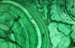 Макрос текстуры зеленого малахита красивый темный Стоковое фото RF