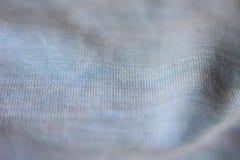 Макрос ткани хлопка Стоковые Изображения