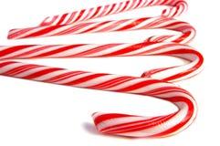 макрос тросточки конфеты Стоковая Фотография RF