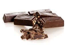 макрос шоколада стоковое фото