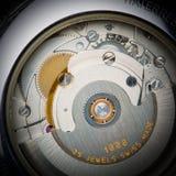 макрос clockworks стоковые фото