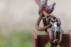 Макрос padlock стоковое фото