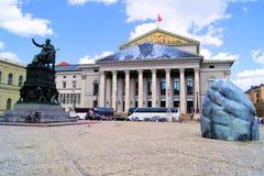 Максимальное Иосиф Platz, Мюнхен Стоковые Фото
