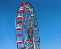 Максимум езды колеса Ferris в небе стоковая фотография