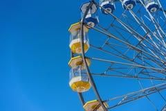 Максимум езды колеса Ferris в небе стоковое фото
