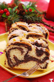 мак рождества торта Стоковое Изображение RF