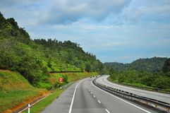 малайзиец хайвея сценарный Стоковое Изображение RF