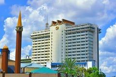 Малайзийский федеральный комплекс в Kuching, Сараваке стоковая фотография
