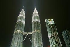 Малайзия возвышается близнец Стоковое фото RF