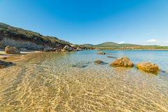 Малая бухта в Alghero Стоковая Фотография