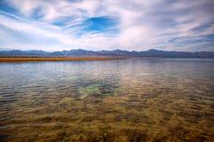 Малая вода в национальном парке Nabq Стоковое Изображение RF
