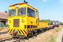 Малая голова поезда, оно главным образом использовано для того чтобы соединить экипажей, прикрепляется к поезду стоковые фото