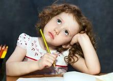 Малая девушка стоковое изображение rf