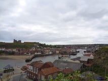 малая деревня в Англии стоковое изображение rf