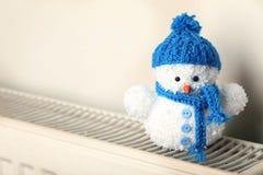 Малая игрушка снеговика Стоковые Изображения