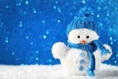 Малая игрушка снеговика Стоковое фото RF