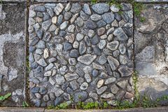 Малая каменная стена Стоковое фото RF