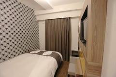малая комната кровати гостиницы Японии Стоковые Фото