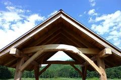Малая крыша укрытия рамки тимберса Стоковое фото RF