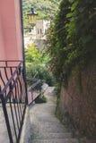 Малая лестница в лете Стоковая Фотография