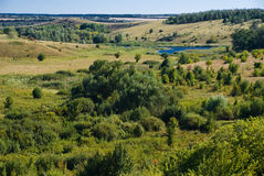 Малая пойма реки Стоковое Изображение