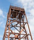 Малая покинутая шахта в Греции Стоковое Фото