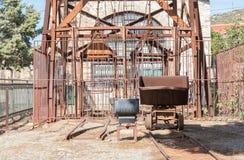 Малая покинутая шахта в Греции Стоковое Изображение RF