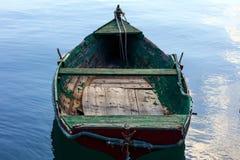 Малая рыбацкая лодка на порте Marsaxlokk, Мальты крупного плана eyedroppers высокий разрешения взгляд очень Стоковая Фотография
