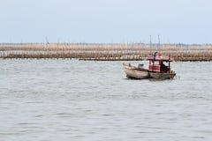 Малая рыбацкая лодка Стоковая Фотография RF