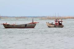 Малая рыбацкая лодка Стоковые Изображения RF
