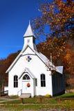 Малая церковь в Западной Вирджинии стоковое изображение rf