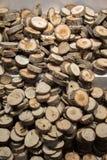 Малая часть отрезанных деревянных журналов Стоковое Изображение RF