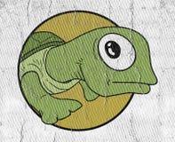 малая черепаха иллюстрация вектора