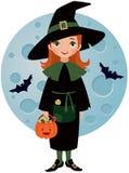 Маленькая ведьма Стоковые Фотографии RF