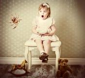 Маленькая госпожа Muffet Стоковое Изображение