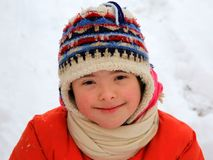 Маленькая девочка имеет потеху Стоковая Фотография RF