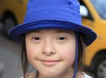 Маленькая девочка имеет потеху Стоковые Фото