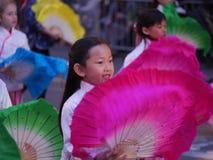 Маленькая девочка на китайском параде Сан-Франциско 2018 Стоковая Фотография RF