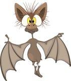 Маленькая жизнерадостная летучая мышь. Шарж Стоковое Изображение RF