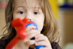 Маленькая певица Стоковое Изображение RF