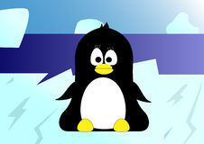 маленькая помадка пингвина Стоковая Фотография