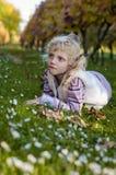 Маленькая симпатичная девушка Стоковые Фотографии RF