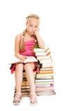 маленькая школьница Стоковые Фото