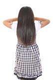 маленькая девочка играя прятку Стоковое Изображение RF
