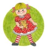Маленькая девочка Стоковое фото RF