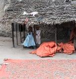 Маленькие африканские дети Стоковое фото RF
