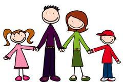 маленькие люди Стоковые Фото
